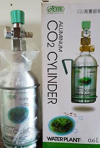 Bombola co2 ricaricabile per acquario da Kg 0,6 + Riduttore di pressione