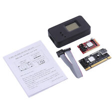 Laptop Mini PCI-E PC PCI LPC Diagnostic Test Tester Debug LCD Display Post Card