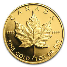 1989 Canada 1 oz Proof Gold Maple Leaf (Capsule Only) - SKU #64574