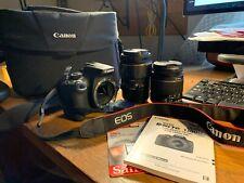 Canon EOS Rebel T6 18.0MP Digital SLR Camera - includes Tamron 90mm macro lens