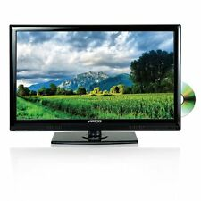 "New 24"" LCD LED TV HDTV 1080p DVD Player USB/SD HDMI Input Remote 12V Car Cord"