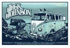 JACK JOHNSON AUSTRALIA 2010 CONCERT POSTER VW MICROBUS VOLKSWAGON