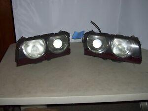 2000 BMW 740iL XENON Headlights set of 2 OEM