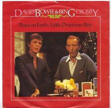 """David Bowie & Bing Crosby - Peace On Earth / Little Drummer Boy - 7"""" Single"""