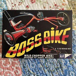 BOSS BIKE Wild Chopper Designed By Harry Bradley 1/12 MPC Model Kit