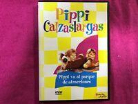Pippi Calzelunghe DVD IN Il Parco De Attrazioni De Planeta Junior Con Karaoke