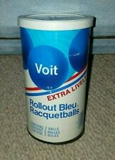Sealed -Vintage Amf Voit Rollout Bleu Racquetballs can.Unopened.Contains 2 balls