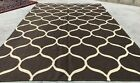 Authentic Hand Knotted Woven Modern Wool Kilim Kilm Area Rug 8 x 6 Ft (970 KBN)
