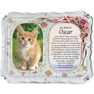 Pet Memorial Double Frame | In Loving Memory Personalised Remembrance Miss You