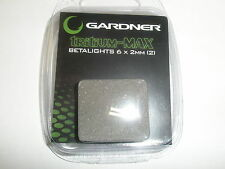 Gardner ATTs Tritium Max Betalight isotopes 2pk RED Fishing tackle