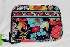 NWT Vera Bradley E-READER SLEEVE in HAPPY SNAILS Kindle Nook Nintendo