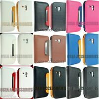 FOR SAMSUNG i8190 GALAXY S3 MINI Leather Case Cover Flip Pouch Book Wallet S111