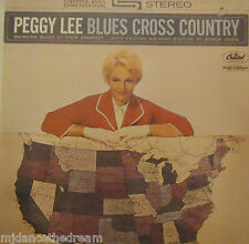 PEGGY LEE - Blues Cross Country ~ VINYL LP FRENCH PRESS