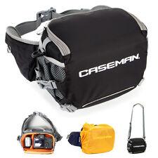 Caseman AW01 Camera Case DSLR Shoulder bag Waist Bag Fanny Pack Messenger Black