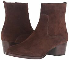 New in Box Womens Frye Clara Zip Short Boots Brown Oiled Suede Size 8 MSRP $ 298