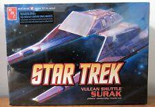 AMT 641 STAR TREK Vulcan Shuttle SURAK plastic model kit 1/187