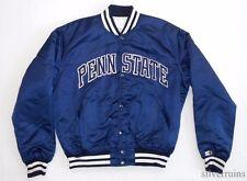 PENN STATE Vintage STARTER JACKET 80's College Sports LIONS SATIN JK 124