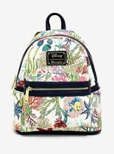 3c10ff4e2bb NEW Loungefly Disney Ariel mini Backpack Little Mermaid Under The Sea  Flounder