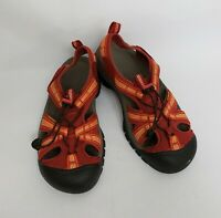 Keen Shoes Sandals Washable Footwear Red Multi Color Womens Size US 8 EU 38.5