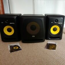More details for 🔊 krk rokit 8 active studio speakers and 10s active subwoofer 🔊 barely used