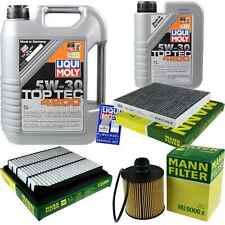 Inspection Kit Filter LIQUI MOLY Oil 6L 5W-30 for Fiat Freemont Jc 2.0 JTD 345_