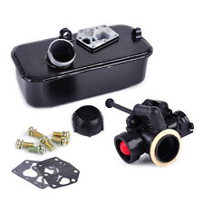 Mower Fuel Gas Tank Carburetor Assembly fits Briggs & Stratton 494406 498809A