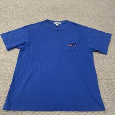 VTG Carnival Cruise Lines Short Sleeve Pocket Tee T Shirt Vacation 1990s Mens XL