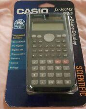 Casio Fx-300Ms Scientific Calculator 2 line display Brand New