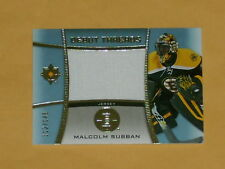 2015-16 Ultimate Debut Threads Jersey Hockey Card # DT-MS Malcolm Subban /149