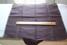Vtg Antique 1800's Brown Silk Fabric/Ribbon scrap Doll Clothes
