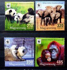 Hungary 2018 - Wwf Hungary: Earth's iconic animals set - Mnh