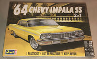 Revell 64 Chevy Impala 2 in 1 1:25 scale model car kit new 4487