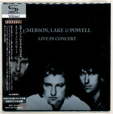Emerson Lake & Powell - Live In Concert / Japan Mini LP SHM CD MICP-30049 MINT!