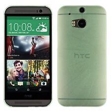 Yemota Pro Slim HTC One M8 Hard Slim Case Schutz Hülle Cover Bumper Tasche Grün
