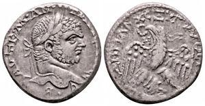 CARACALLA (215-217 AD) BI Tetradrachm. Emesa #IR 7471