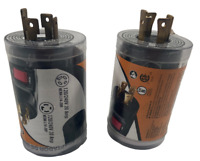 2 Pack PowerFit 30 Amp 240-Volt to 20 Amp 240-Volt Outlet Adapter Model PF923022
