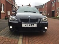 BMW 535D M Sport. TV and Logic 7 sound system