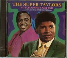 Little Johnny Taylor & Ted Taylor - Super Taylors - CD - New