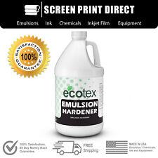 Ecotex Emulsion Hardener Long Run Screen Printing Emulsion Hardener Gallon