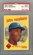 1959 Topps #441 John Roseboro PSA 8 NM-MT #30317361 **CNAT21**