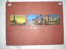 A TALE OF TRAILS calcutta RARE BOOK INDIA