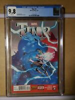 Thor # 2     1st full Jane Foster asThor     CGC Graded 9.8   White Pages