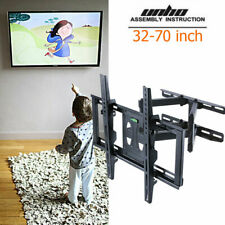 "Adjustable Swivel Long Arm TV Wall Mount Bracket Universal for 32-70"" Samsung LG"