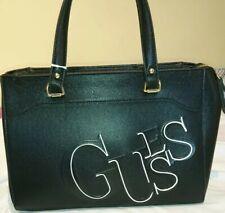 Guess Abby Satchel Crossbody Bag Black Bnwt Pu Leather Handbag