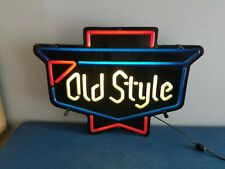 old style Real Neon Sign Beer Bar Light Home Decor Hand Made Artwork