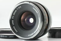 """[Rear """"O"""" Exc+5] Canon FD 28mm f/3.5 Wide Angle MF Lens for SLR from JAPAN"""
