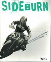 Sideburn Flat Track Motorcycle Magazine # 27 Cover 1 2016  6689F