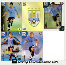 *2010 Panini South Africa World Cup Soccer Cards Team Set Uruguay (5)