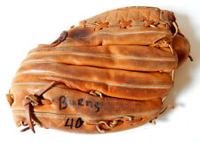 Britt Burns #40 Chicago White Sox Game Used Vintage Wilson Baseball Glove Mitt