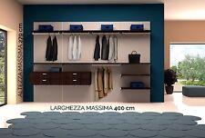 Armadio Cabina  con Schiena su misura- Guardaroba Salvaspazio- 5 GIORNI-Closet